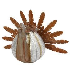 Wholesale Pumpkin Farms In Michigan by Rusted Galvanized Metal Turkey With Pumpkin Body Northwoods