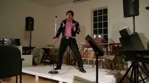 Gigi Aea performing Elvis
