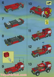100 Lego Fire Truck Video LEGO 7240 Station Set Parts Inventory And Instructions LEGO