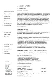 Banquet Server Resume Examples Captain Samples Example Brilliant