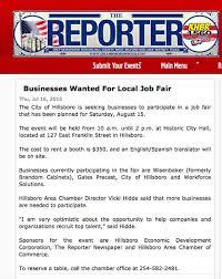 Brandom Cabinets Hillsboro Texas by Sept 26 2014 The Hillsboro Reporter And Khbr 1560 Am Let The