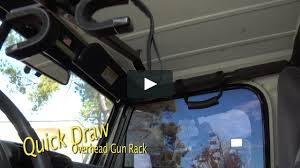 100 Overhead Gun Racks For Trucks QuickDraw Rack For Jeep Wrangler Model QD857OGRJEEP