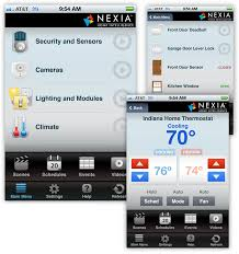 Mobile and Web App Nexia Home Intelligence on Behance