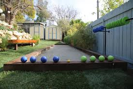 Backyard Bocce Ball Court Designs — Farmhouse Design And Furniture ... Bocce Ball Courts Grow Land Llc Awning On Backyard Court Extends Playamerican Canvas Ultrafast Court Build At Royals Palms Resort And Spa Commercial Gallery Build Backyards Wonderful Bocceejpg 8 Portfolio Idea Escape Pinterest Yards