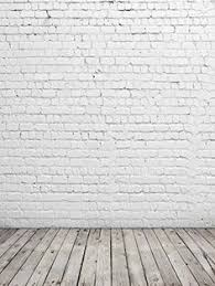 Chic White Brick Backdrop Good By BestBackdropCenter