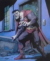 superman superman villain gerahmt und montiert