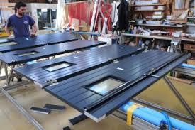 porte sectionnelle sur mesure fabricant porte de garage coulissante pvc et aluminium sur mesure