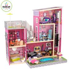 KIDKRAFT BELLA WOODEN KIDS DOLLS HOUSE FURNITURE FITS BARBIE