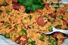 cuisine avec du riz riz aux merguez et petits pois à l espagnole couscous et puddings