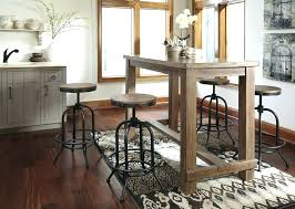Pub Dining Room Sets Bar Table Height Style