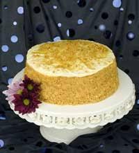 Gluten free Burnt Almond Cake by Carol Kicinski Simply Gluten Free