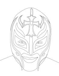 Wwe Superstars Colouring Pages