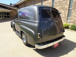 100 1955 Ford Panel Truck F100 Air Conditioning Super Sharp