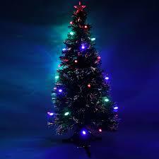 7ft Fiber Optic Christmas Tree Pre Lit by White Fibre Optic Christmas Tree 4ft Christmas Lights Decoration