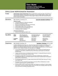 Assistant Valid Executive Rhcrossfitrespectcom For Medical Rhsamplebusinesscom Sample Administrative Resume Examples 2016