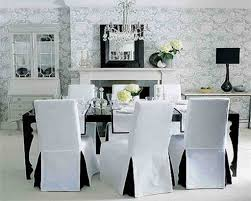 Beautiful Dining Room Chair Covers With Arms For All Size Of Space Exquisite Decorative