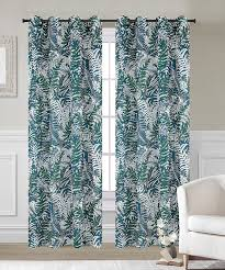 Sheer Curtain Panels With Grommets by Palm Set Of 2 Faux Linen Sheer Curtain Panels With Grommets 2