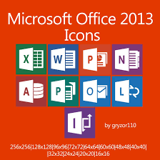 Microsoft fice 2013 Icons by gryzor110 on DeviantArt