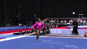 Simone Biles Floor Routine Score by Simone Biles Floor Exercise 2015 At U0026t American Cup Nbc Youtube
