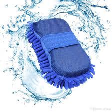 100 Truck Wash Brush Car Sponge Ing Gloves Microfiber Chenille Cleaner