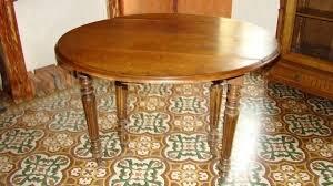 table de cuisine ancienne en bois table ronde pliante bois ancienne conceptions de maison