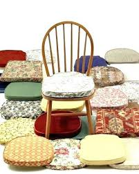 Pleasurable Dining Room Chair Pads With Ties Indoor Blue Kitchen Cushions Natural