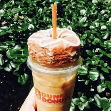 Large Pumpkin Iced Coffee Dunkin Donuts by Dunkin U0027 Donuts 272 Photos U0026 219 Reviews Donuts 14215