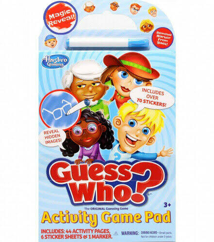 Tara Toys Guess Who? Activity Game Pad