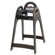 Koala Kare Brown Plastic Designer High Chair - 16 3/4