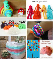 40 Fun And Fantastic Yarn Arts Crafts Activities For Kids Process Art