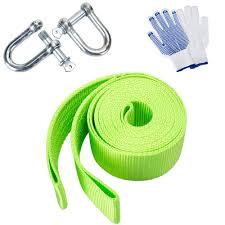 100 Tow Ropes For Trucks New Green Nylon 125ft 11000lb Car Truck Ing Rope Heavy Duty