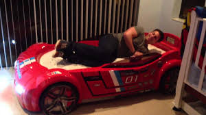Corvette Toddler Bed by Jagged First Car Bed Youtube