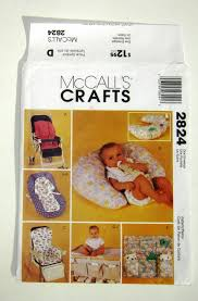 Mccalls Pumpkin Patch Haunted House by Baby Nursery Things Mccalls Crafts Sewing Pattern 2824 High Chair