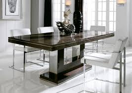 Elegant Kitchen Table Decorating Ideas by Interesting Modern Dining Table Dining Room Pinterest Black