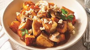 poutine cuisine canadian baked vegetable poutine with gravy recipe