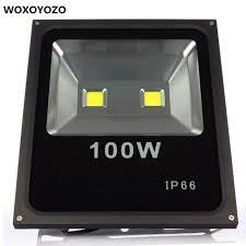 ultra thin black led flood lights 100w led reflector led