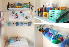 Creative Craft Work From Home Art And Homework Station Via O Maniac For The Older Child Who Is Brining