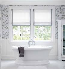 9 Bathroom Window Treatment Ideas | DECO Window Fashions Bathroom Curtain Ideas For All Tastes And Styles Mhwatson Window Dressing Treatment Ideas Ikea Treatment To Take Your The Next Level Creative Home 70 In X 72 Poinsettia Textured Shower Fountain Hills Coverings Target Set Net Blue Showers Small Rods 19 Excellent Grey Inspiration Beach Shower 15 Elegant Symmons Decor Bay Bedroom Have Curtains Decorating Rustic Better Homes Gardens
