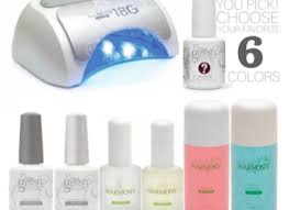 harmony gelish professional led gel 5 45 l cures all five