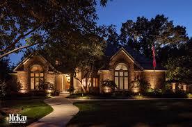 Residential Landscape Lighting Omaha Nebraska Focus On The Front Of Your Home