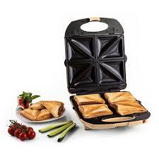 klarstein sandwichmaker 3in1 sandwichtoaster