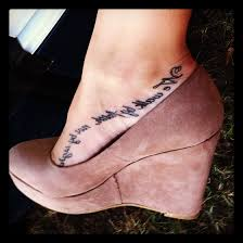Bible Verse Tattoos On Foot 1000 Ideas About Pinterest