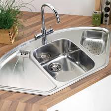 100 stainless utility sink with drainboard kitchen