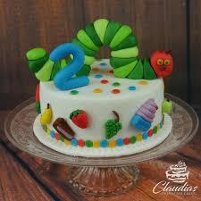 raupe nimmersatt torte the hungry caterpillar cake