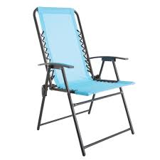 Pure Garden Patio Lawn Chair In Blue