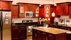 The Wonderful Look Of Kitchen Design Ideas Cherry Cabinets