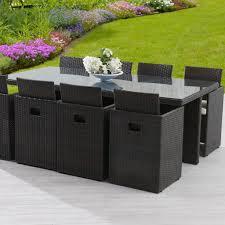 tables de jardin en resine table et chaise de jardin en resine photo mobilier jardin salon de