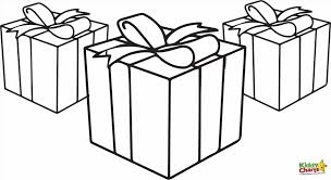 Presents Coloring Pages And
