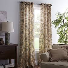 Pier 1 Imports Curtain Rods by Pier One Imports Curtains Pearson Floral Curtain 84