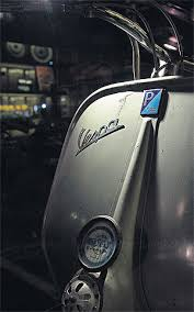 The Shape Of Vespa Was Different From Other Scooters Because Side Cowl And Front Fender Were Smooth Had A Curve Like Circle I Loved It
